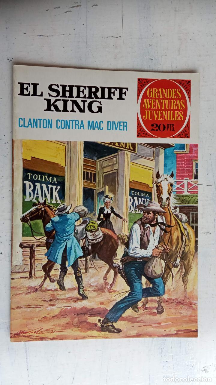 Tebeos: EL SHERIFF KING BRUGUERA NºS - 2 (1),8,14,18,30,31, - Foto 10 - 201298948
