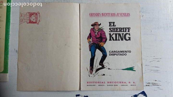 Tebeos: EL SHERIFF KING BRUGUERA NºS - 2 (1),8,14,18,30,31, - Foto 14 - 201298948