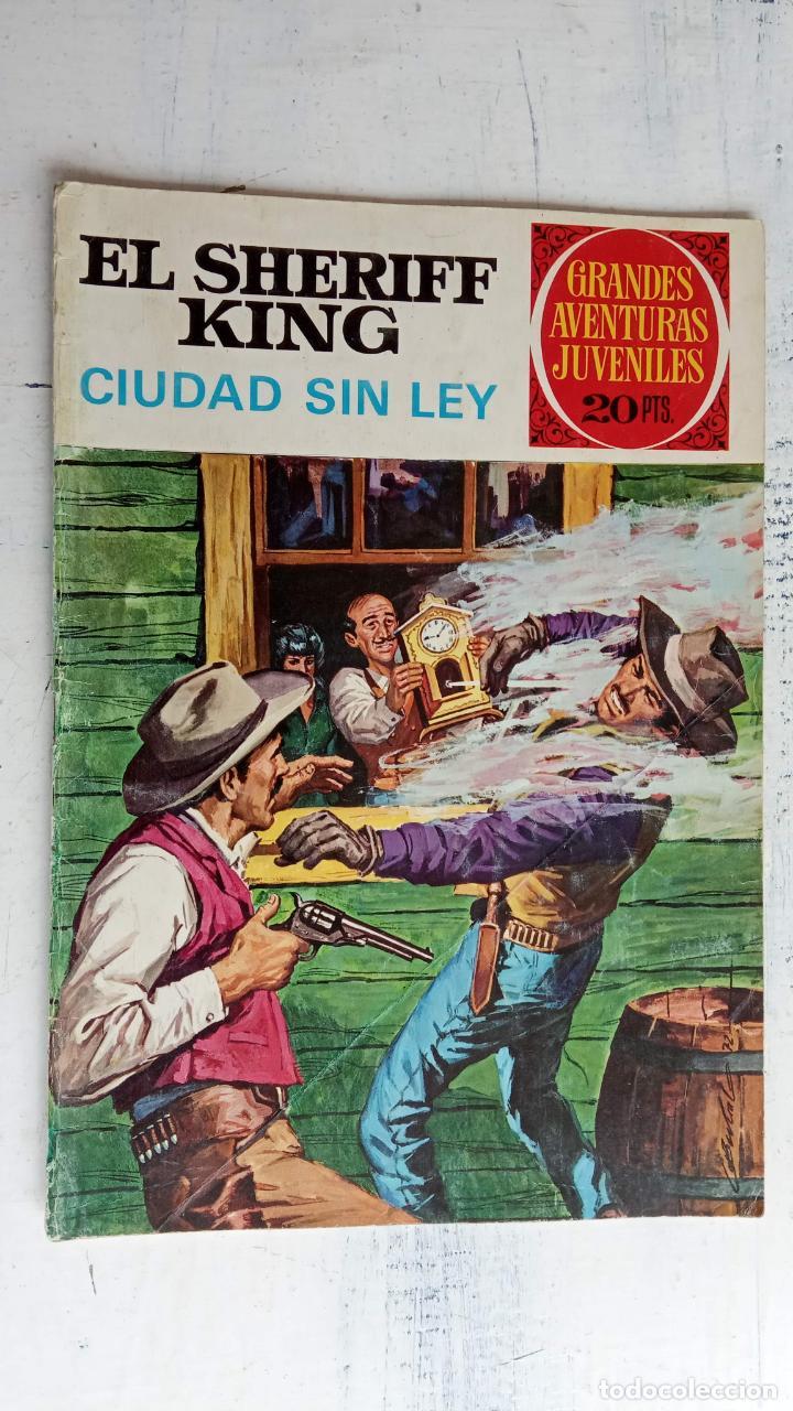 Tebeos: EL SHERIFF KING BRUGUERA NºS - 2 (1),8,14,18,30,31, - Foto 15 - 201298948