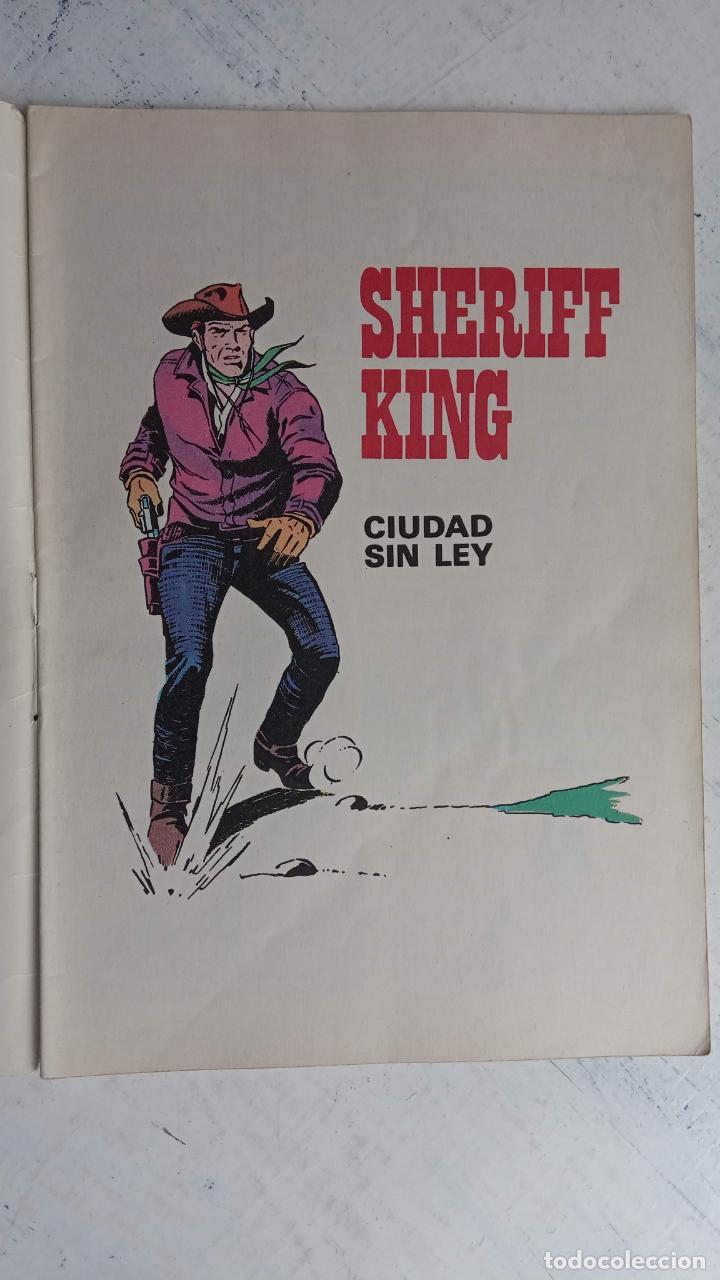 Tebeos: EL SHERIFF KING BRUGUERA NºS - 2 (1),8,14,18,30,31, - Foto 20 - 201298948