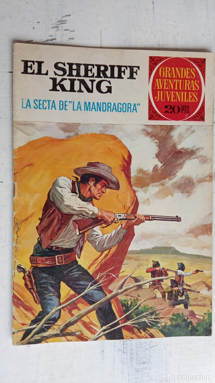 Tebeos: EL SHERIFF KING BRUGUERA NºS - 2 (1),8,14,18,30,31, - Foto 23 - 201298948