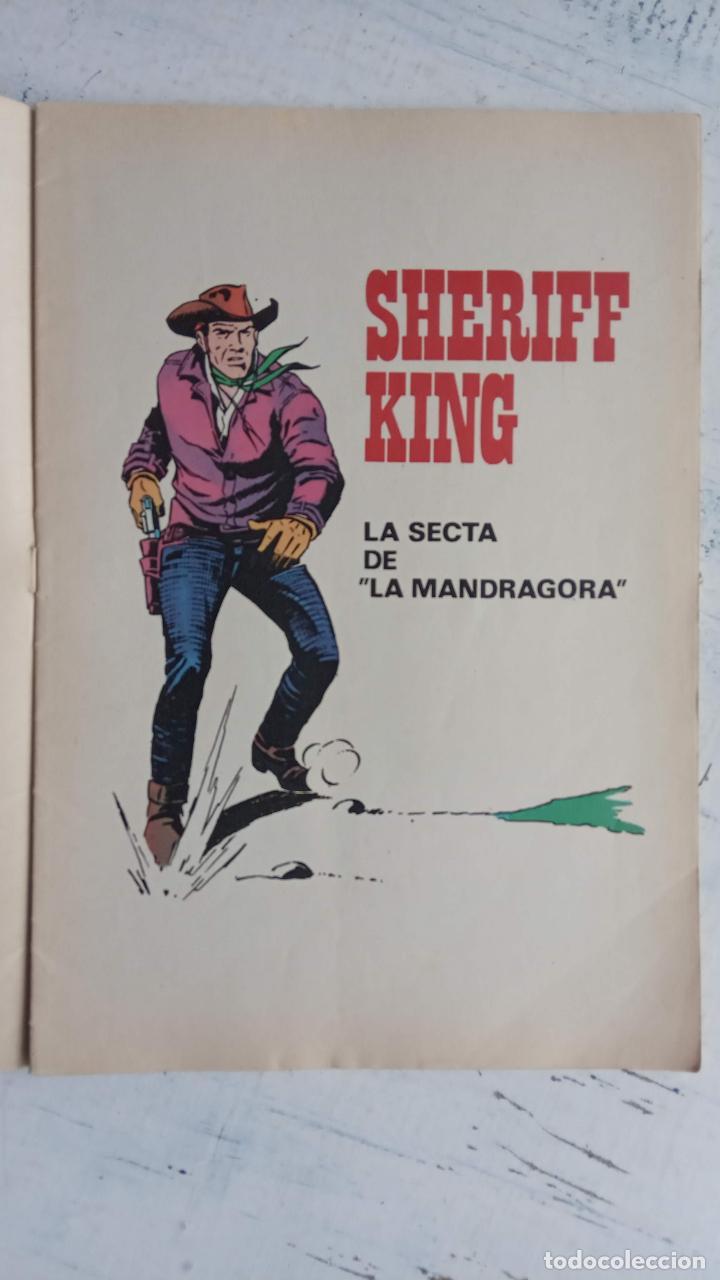 Tebeos: EL SHERIFF KING BRUGUERA NºS - 2 (1),8,14,18,30,31, - Foto 24 - 201298948
