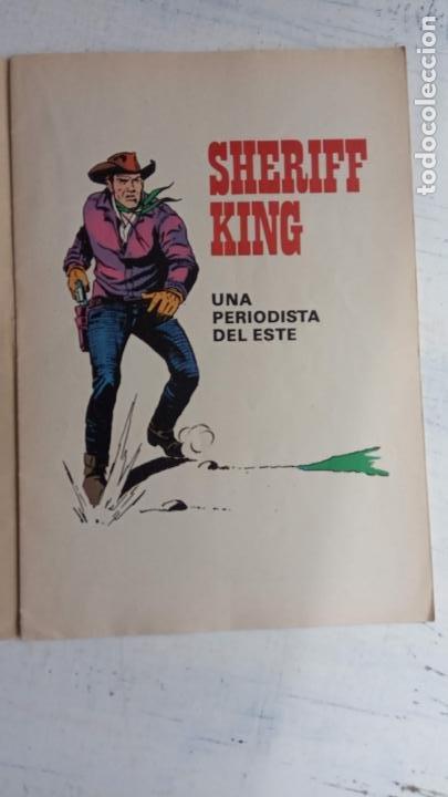 Tebeos: EL SHERIFF KING BRUGUERA NºS - 2 (1),8,14,18,30,31, - Foto 25 - 201298948
