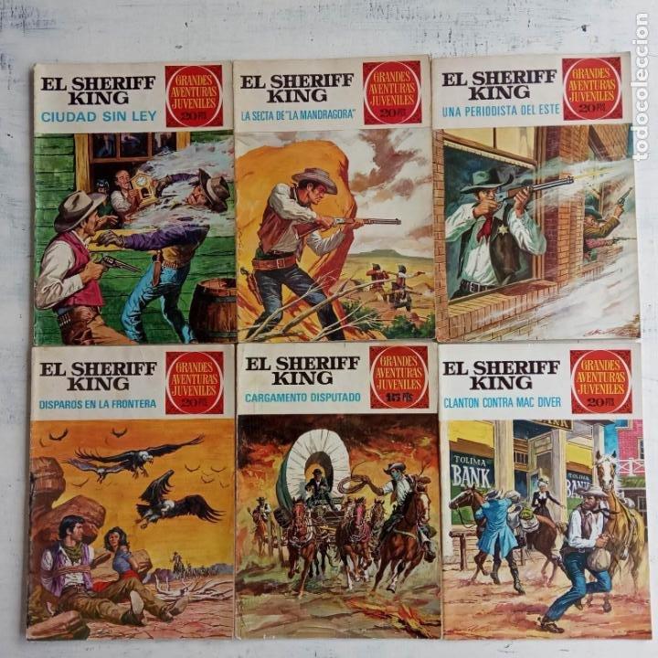 EL SHERIFF KING BRUGUERA NºS - 2 (1),8,14,18,30,31, (Tebeos y Comics - Bruguera - Sheriff King)