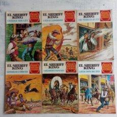 Tebeos: EL SHERIFF KING BRUGUERA NºS - 2 (1),8,14,18,30,31,. Lote 201298948