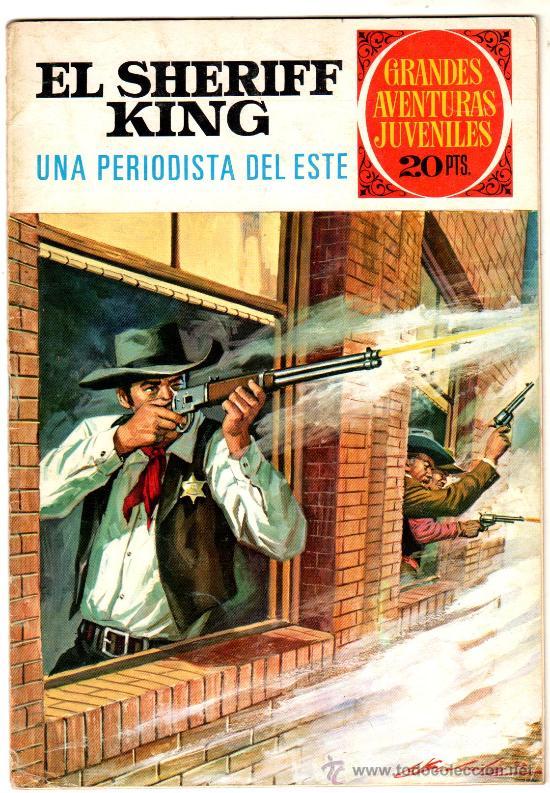 Tebeos: EL SHERIFF KING BRUGUERA NºS - 2 (1),8,14,18,30,31, - Foto 29 - 201298948