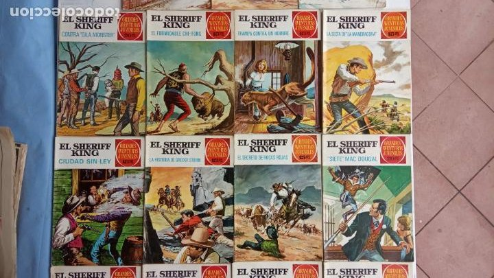 Tebeos: EL SHERIFF KING 20 NºS - 68,51,40,32,31,30,28,26,24,22,21,20,18,16,14,12,8,6,4,2,( 1) - Foto 5 - 201301952