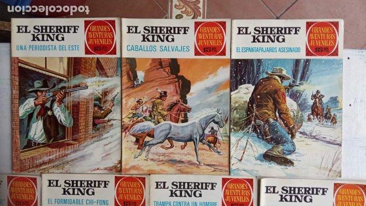 Tebeos: EL SHERIFF KING 20 NºS - 68,51,40,32,31,30,28,26,24,22,21,20,18,16,14,12,8,6,4,2,( 1) - Foto 6 - 201301952