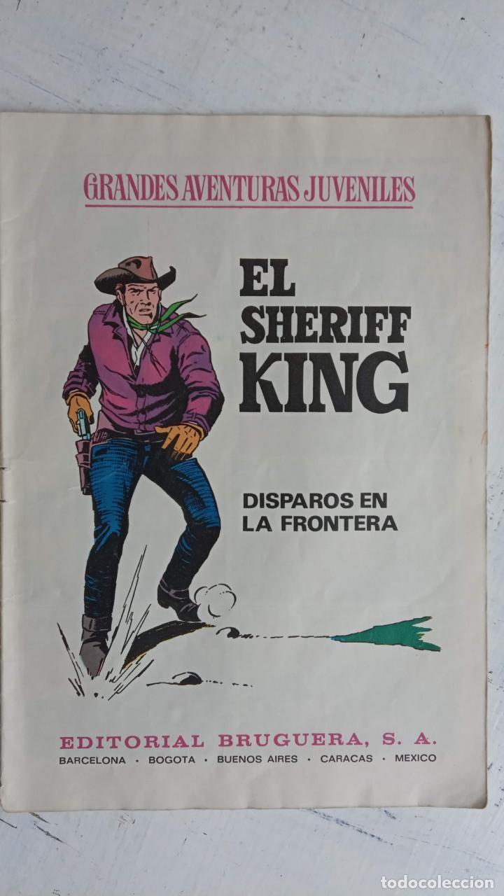 Tebeos: EL SHERIFF KING 20 NºS - 68,51,40,32,31,30,28,26,24,22,21,20,18,16,14,12,8,6,4,2,( 1) - Foto 8 - 201301952