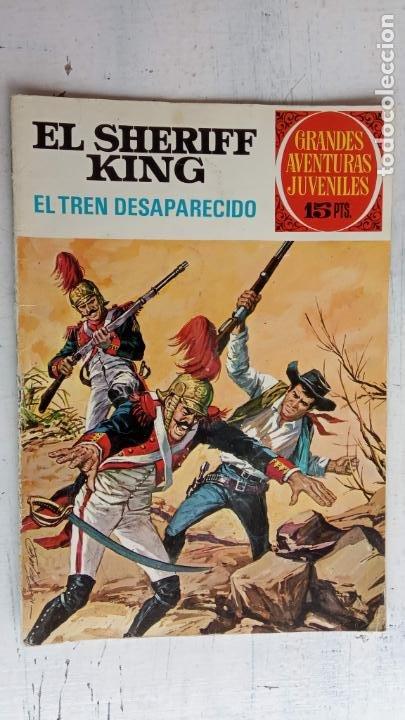 Tebeos: EL SHERIFF KING 20 NºS - 68,51,40,32,31,30,28,26,24,22,21,20,18,16,14,12,8,6,4,2,( 1) - Foto 11 - 201301952