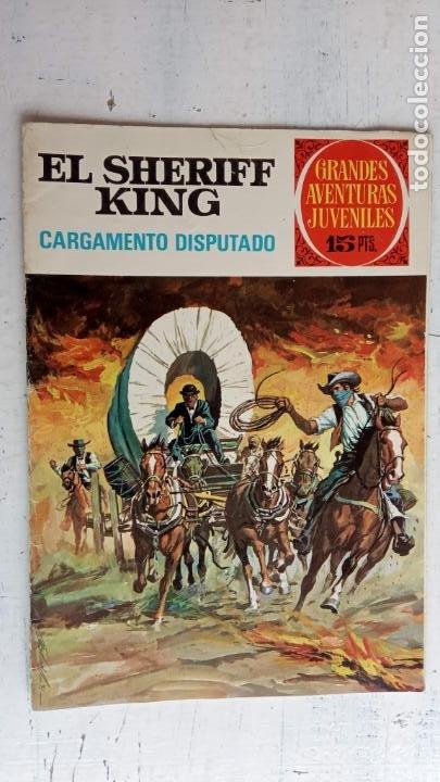 Tebeos: EL SHERIFF KING 20 NºS - 68,51,40,32,31,30,28,26,24,22,21,20,18,16,14,12,8,6,4,2,( 1) - Foto 12 - 201301952