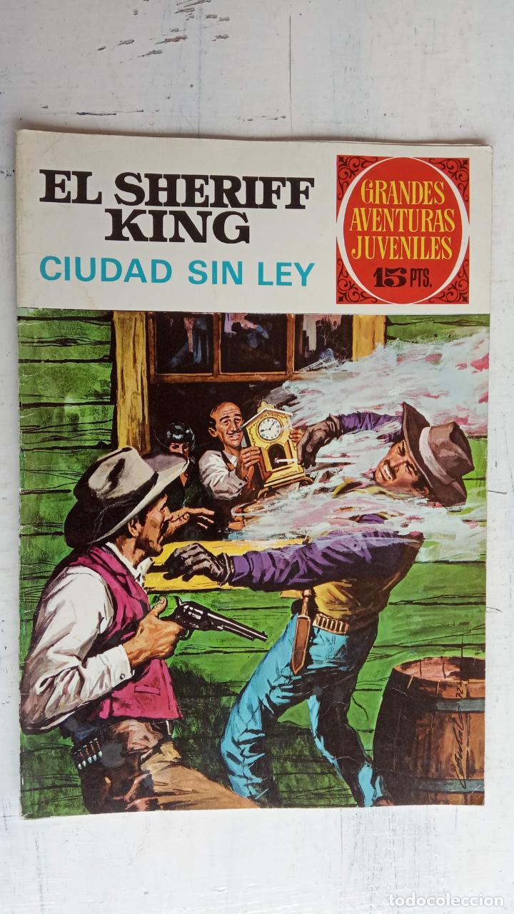 Tebeos: EL SHERIFF KING 20 NºS - 68,51,40,32,31,30,28,26,24,22,21,20,18,16,14,12,8,6,4,2,( 1) - Foto 19 - 201301952