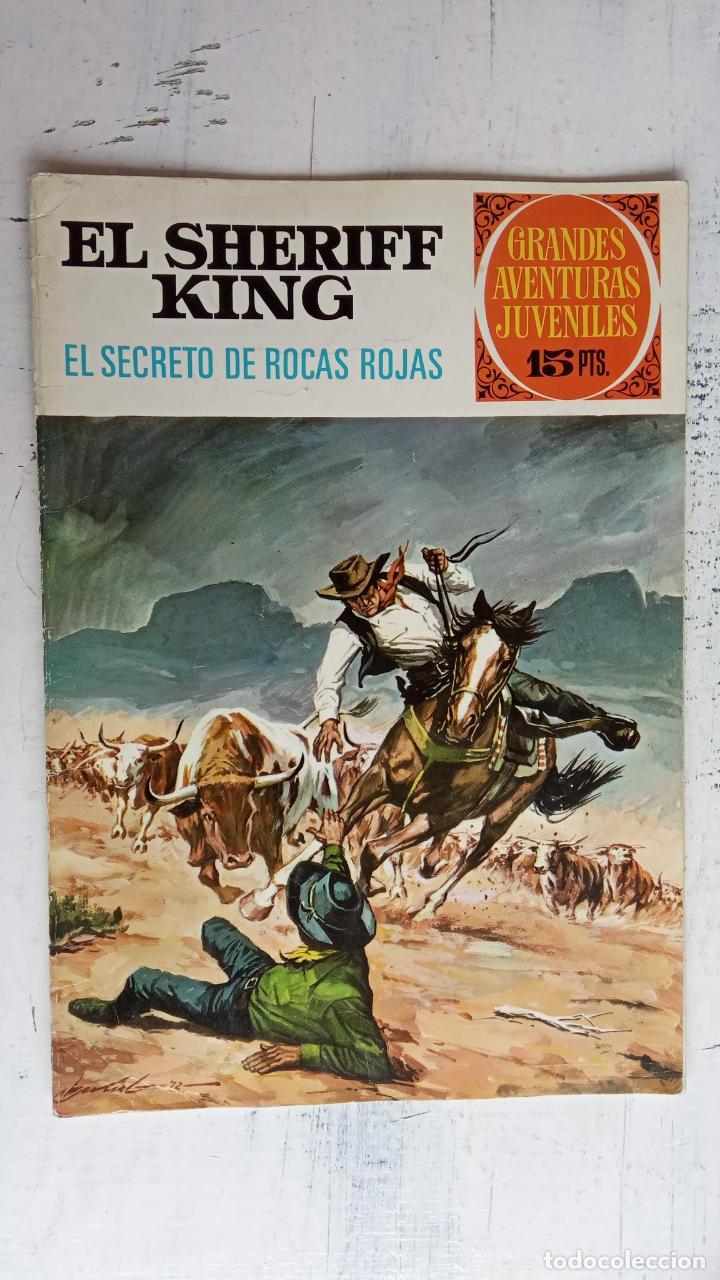 Tebeos: EL SHERIFF KING 20 NºS - 68,51,40,32,31,30,28,26,24,22,21,20,18,16,14,12,8,6,4,2,( 1) - Foto 21 - 201301952