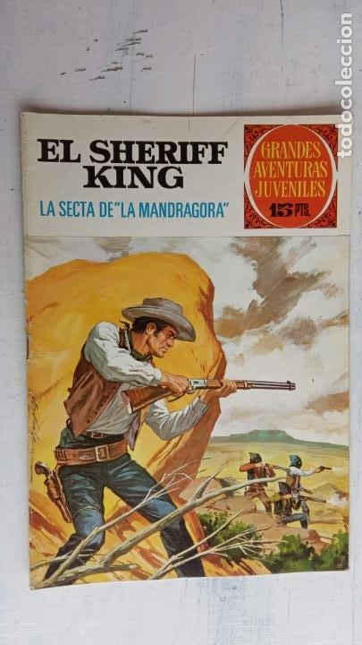 Tebeos: EL SHERIFF KING 20 NºS - 68,51,40,32,31,30,28,26,24,22,21,20,18,16,14,12,8,6,4,2,( 1) - Foto 26 - 201301952
