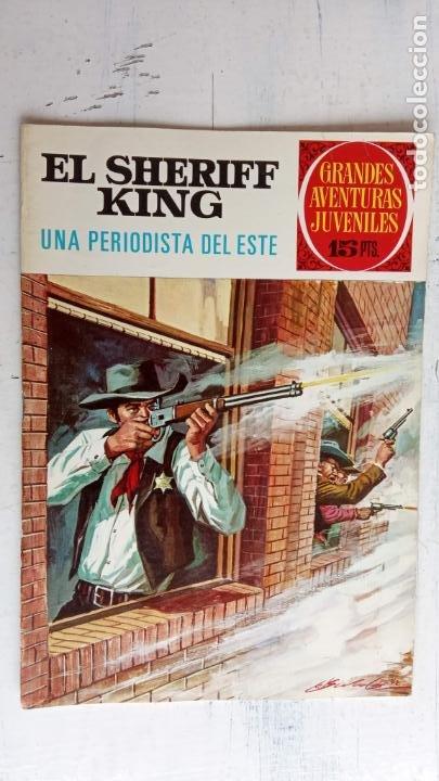 Tebeos: EL SHERIFF KING 20 NºS - 68,51,40,32,31,30,28,26,24,22,21,20,18,16,14,12,8,6,4,2,( 1) - Foto 27 - 201301952