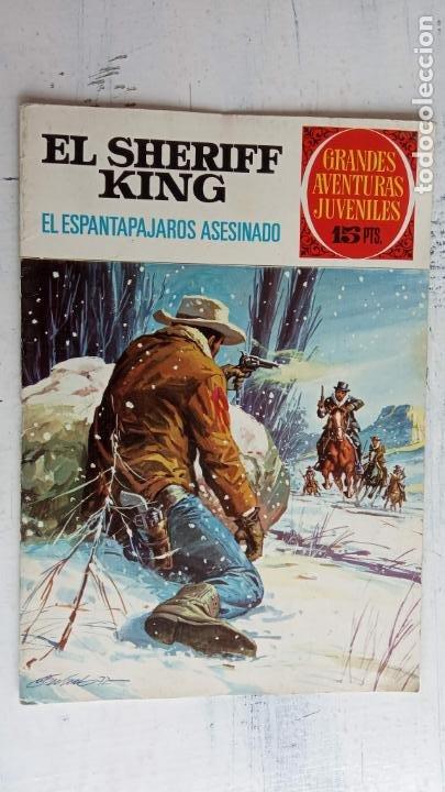 Tebeos: EL SHERIFF KING 20 NºS - 68,51,40,32,31,30,28,26,24,22,21,20,18,16,14,12,8,6,4,2,( 1) - Foto 29 - 201301952
