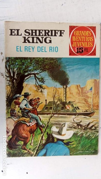 Tebeos: EL SHERIFF KING 20 NºS - 68,51,40,32,31,30,28,26,24,22,21,20,18,16,14,12,8,6,4,2,( 1) - Foto 31 - 201301952