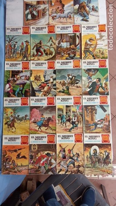 EL SHERIFF KING 20 NºS - 68,51,40,32,31,30,28,26,24,22,21,20,18,16,14,12,8,6,4,2,( 1) (Tebeos y Comics - Bruguera - Sheriff King)