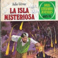 Tebeos: LA ISLA MISTERIOSA - JULIO VERNE - Nº 13 - JOYAS LITERARIAS JUVENILES - 5º ED. 1979 - EDT. BRUGUERA.. Lote 201473243