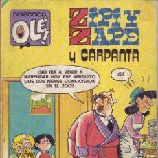Tebeos: ZIPI Y ZAPE Y CARPANTA - DOS PEQUEÑAJOS DE CUIDADO - COLECCION OLE Nº 200 - 1ª EDICION 1980. Lote 201484442