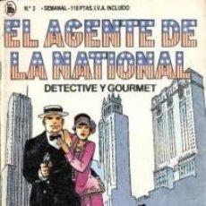 Tebeos: EL AGENTE DE LA NATIONAL 2-SEMANARIO DE BRUGUERA NOVELADO CON VIÑETAS NUEVO 1986. Lote 201587637