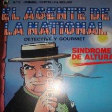 Tebeos: EL AGENTE DE LA NATIONAL 10-SEMANARIO DE BRUGUERA NOVELADO CON VIÑETAS NUEVO 1986. Lote 201587915