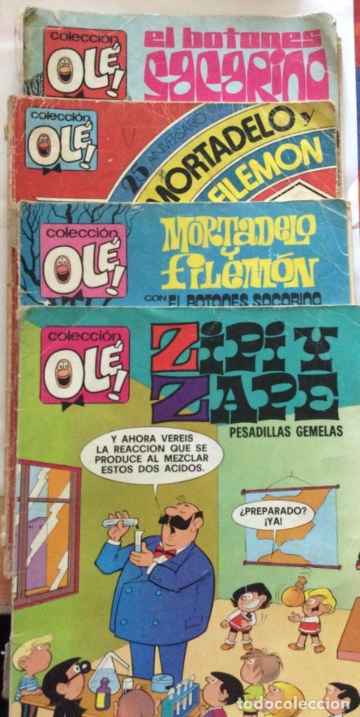 CONJUNTO DE CUATRO TEBEOS COLECCIÓN OLÉ NÚMEROS -139 - 158 - 238 - 275 - 288 (Tebeos y Comics - Bruguera - Ole)