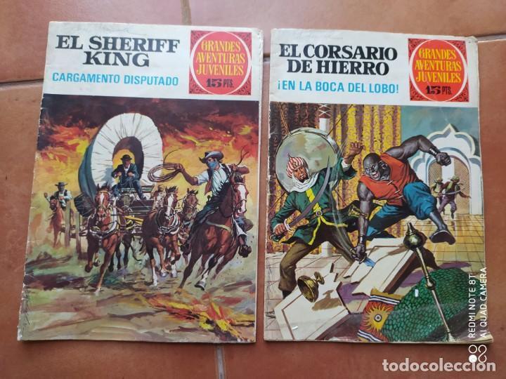COMICS EL CORSARIO DE HIERRO Y EL SHERIFF KING (Tebeos y Comics - Bruguera - Corsario de Hierro)