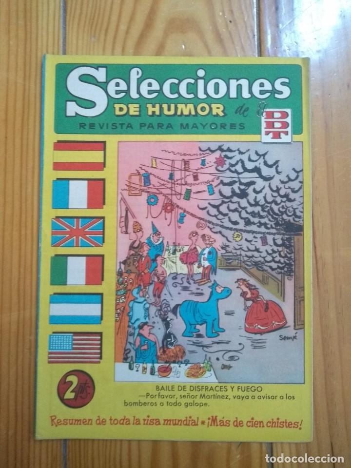 SELECCIONES DE HUMOR DE EL DDT # 64 - MUY BUEN ESTADO (Tebeos y Comics - Bruguera - DDT)