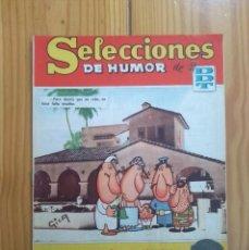 Tebeos: SELECCIONES DE HUMOR DE EL DDT # 125 - ESTADO BUENO / MUY BUENO. Lote 202523277