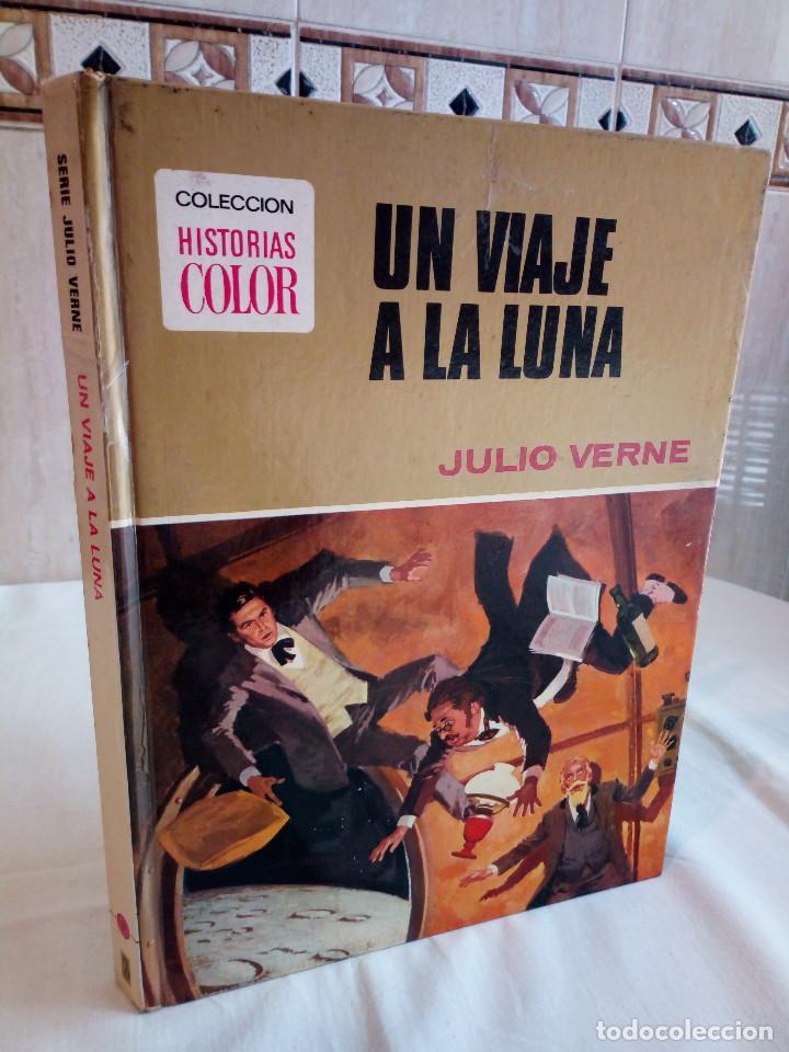 17-UN VIAJE A LA LUNA, JULIO VERNE, HISTORIAS COLOR, BRUGUERA 1972 (Tebeos y Comics - Bruguera - Historias Selección)