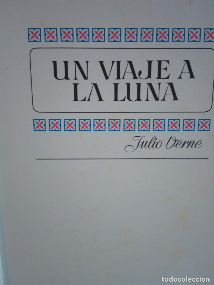 Tebeos: 17-UN VIAJE A LA LUNA, Julio Verne, historias color, bruguera 1972 - Foto 4 - 202546670