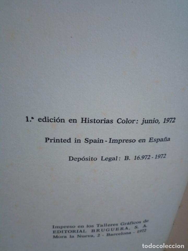 Tebeos: 17-UN VIAJE A LA LUNA, Julio Verne, historias color, bruguera 1972 - Foto 5 - 202546670
