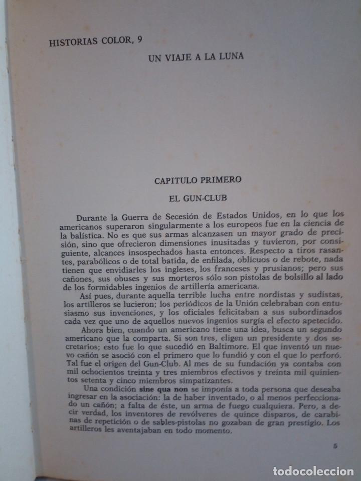 Tebeos: 17-UN VIAJE A LA LUNA, Julio Verne, historias color, bruguera 1972 - Foto 6 - 202546670