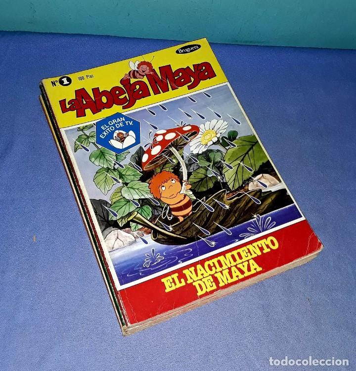 LOTE DE 5 TOMOS DE LA ABEJA MAYA AÑOS 70 ORIGINALES EDITORIAL BRUGUERA (Tebeos y Comics - Bruguera - Otros)