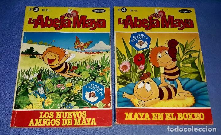 Tebeos: LOTE DE 5 TOMOS DE LA ABEJA MAYA AÑOS 70 ORIGINALES EDITORIAL BRUGUERA - Foto 3 - 202704183