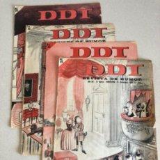 Livros de Banda Desenhada: LOTE 4 TEBEOS DDT 1965. Lote 202848442