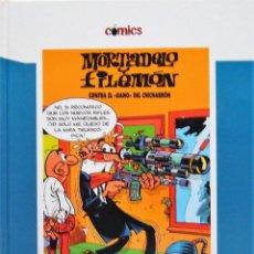 Tebeos: MORTADELO Y FILEMÓN - EL SULFATO ATÓMICO + CONTRA EL GANG DEL CHICHARRÓN. Lote 202956452
