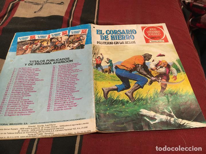 EL CORSARIO DE HIERRO-JOYAS LITERARIAS-SERIE ROJA- Nº 48 - BRUGUERA 1978 (Tebeos y Comics - Bruguera - Corsario de Hierro)