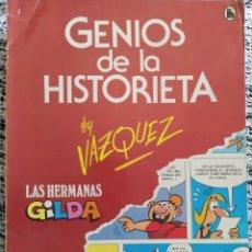 Tebeos: GENIOS DE LA HISTORIETA VAZQUEZ. Lote 203145567