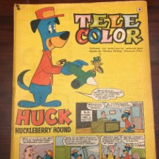 Tebeos: TELE COLOR HUCK HUCKLEBERRY HOUND Nº 9. Lote 203175125