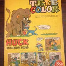 Tebeos: TELE COLOR HUCK HUCKLEBERRY HOUND Nº 5. Lote 203175263