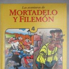 Tebeos: LAS AVENTURAS DE MORTADELO Y FILEMON - TOMO 4 - EDICIONES B - EDICION DE LUJO. Lote 203233152