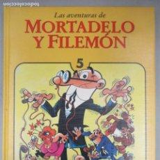 Tebeos: LAS AVENTURAS DE MORTADELO Y FILEMON - TOMO 5 - EDICIONES B - EDICION DE LUJO. Lote 203233240