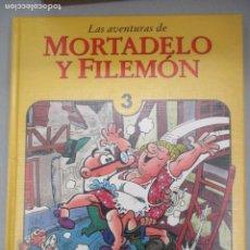 Tebeos: LAS AVENTURAS DE MORTADELO Y FILEMON - TOMO 3 - EDICIONES B - EDICION DE LUJO. Lote 203233327