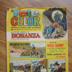 Tebeos: TELE COLOR Nº 203. Lote 203261575
