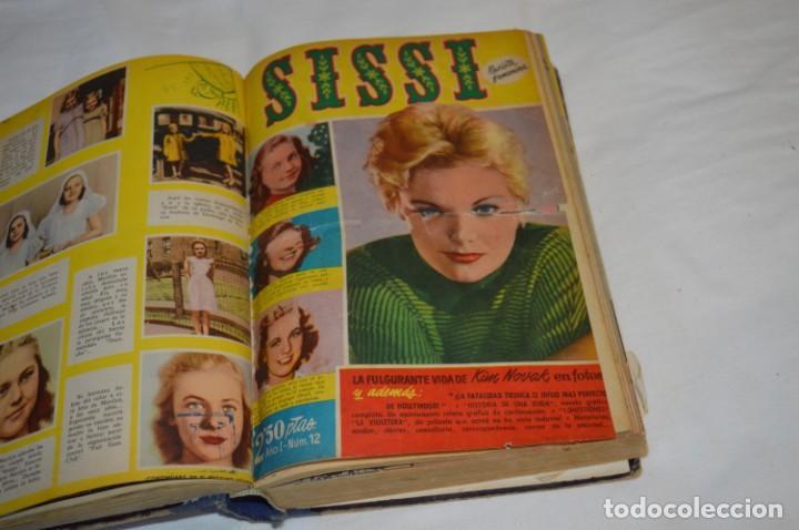 Tebeos: SISSI - Tomo con los primeros 40 ejemplares publicados, del número 01 al 40 - Años 50 ¡Mira fotos! - Foto 6 - 203284468