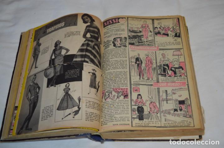 Tebeos: SISSI - Tomo con los primeros 40 ejemplares publicados, del número 01 al 40 - Años 50 ¡Mira fotos! - Foto 7 - 203284468