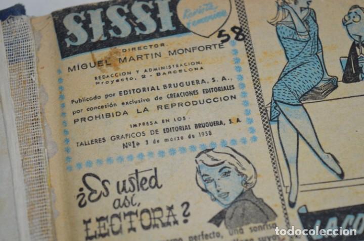 Tebeos: SISSI - Tomo con los primeros 40 ejemplares publicados, del número 01 al 40 - Años 50 ¡Mira fotos! - Foto 11 - 203284468