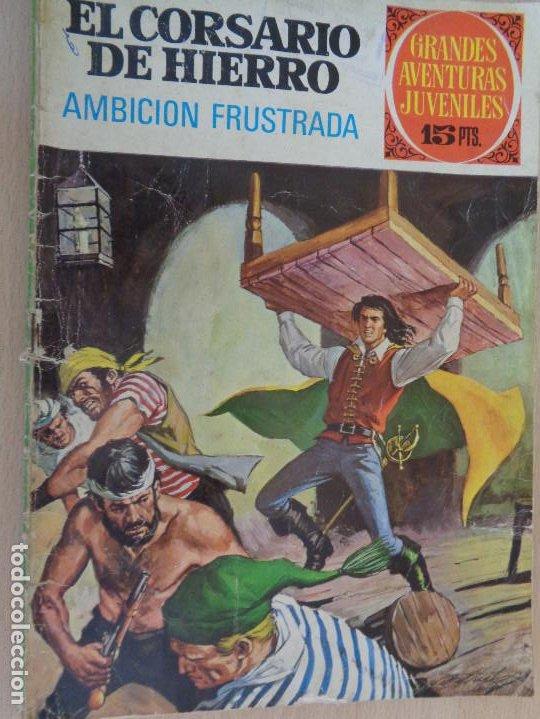 JOYAS LITERARIAS JUVENILES. SERIE ROJA Nº 29. EL CORSARIO DE HIERRO. BRUGUERA 1977 (Tebeos y Comics - Bruguera - Joyas Literarias)